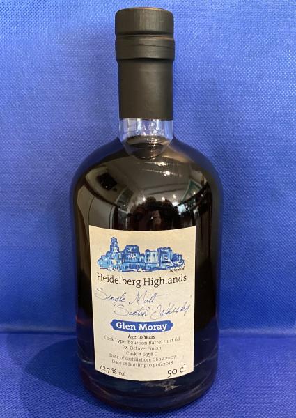 Single Malt Scotch Whisky - Glen Moray
