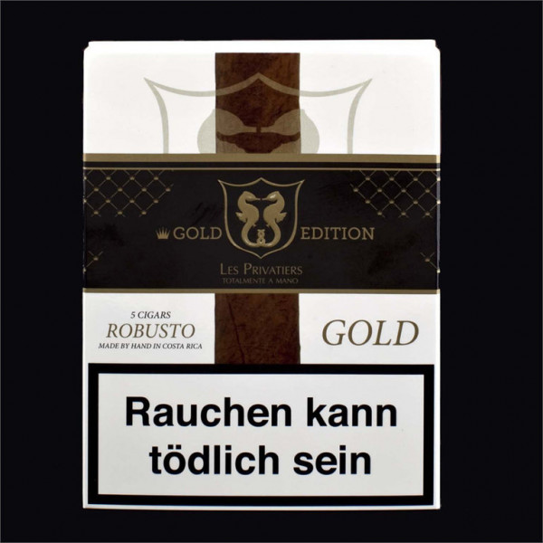 Robusto Box - Gold Edition