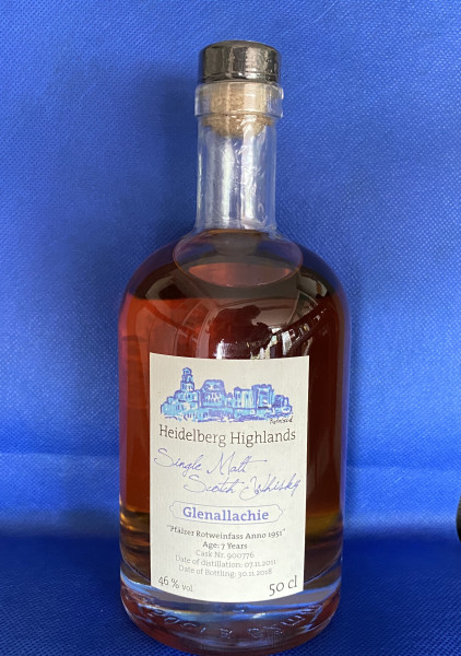 Single Malt Scotch Whisky-Glenallachie